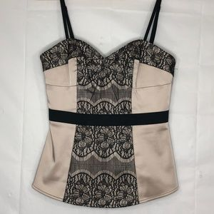 Tracy Reese Lace Bustier, Sz 2